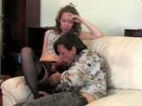Leila and Gilbert nasty strapon movie
