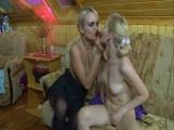 Dolly and Judith naughty anal lesbian clip