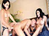 Kristina Rose,Vin Deacon,Andy San Dimas in Belt Attack #12