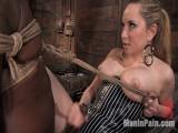 Miss Starr Predominates Thick Stud's Ebony Butt