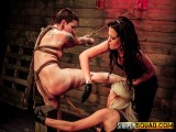 Sheena Rose Suffers More Girl/girl Domination from Mila Blaze & Brooklyn Daniels