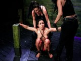 Promiscuous Slave Isa Mendez Gets Predominated and Used by Lexy Villa and Brooklyn Daniels